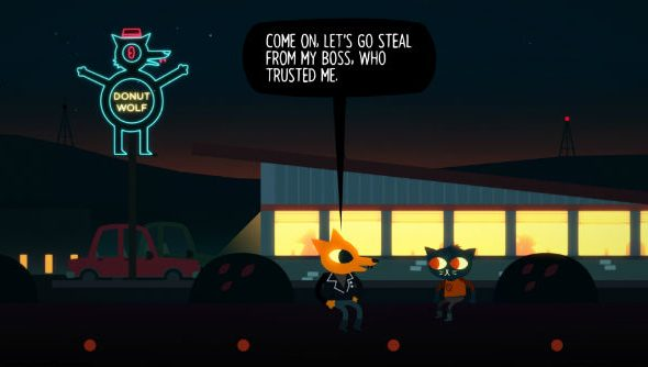 Night in the Woods header