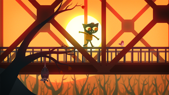 Night in the Woods Infinite Fall