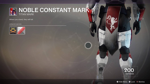 Noble Constant mark
