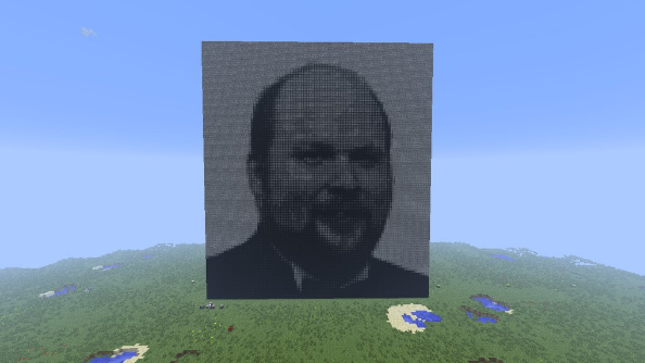 ComputerCraft used to create art through science in Minecraft