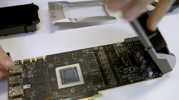 Nvidia GTX 1080 Ti teardown