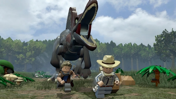 Nvidia Lego Jurassic World