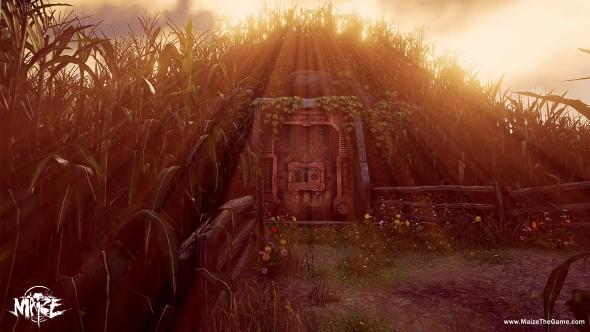 Nvidia Showcase Maize vault door