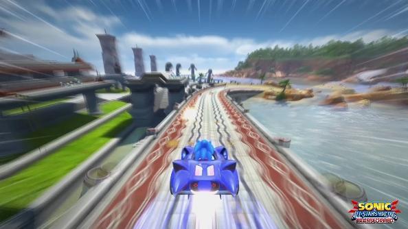 Nvidia Sonic All Stars Racing Transformed