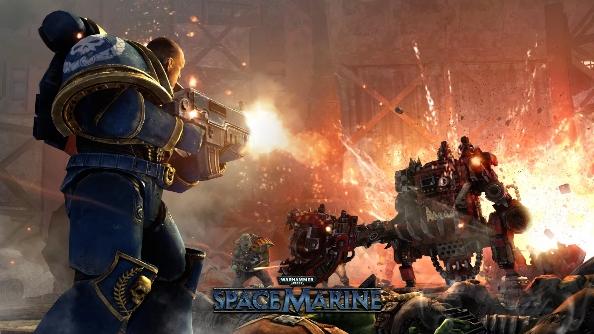 Nvidia Space Marine