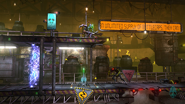 Oddworld: New 'n' Tasty is coming to Steam on February 25th