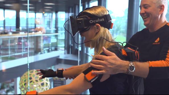 Oculus Rift Xsens