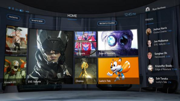 Oculus Rift store