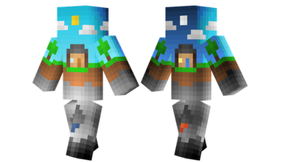 best minecraft skins Over World