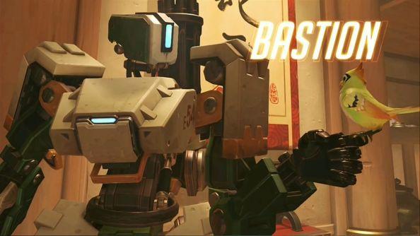 Blizzard BlizzCon 2014 Overwatch Bastion