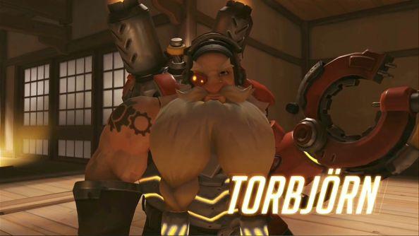 Blizzard BlizzCon 2014 Overwatch Torbjorn
