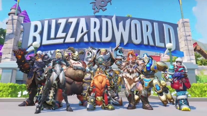 Overwatch Blizzard skins