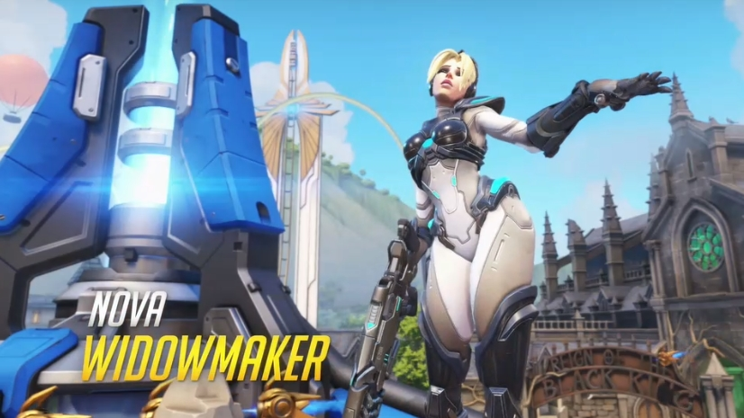 Overwatch Blizzard skins Nova Widowmaker