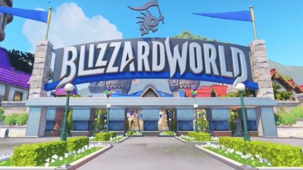 Overwatch Blizzardworld map
