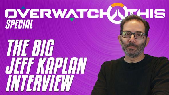 Overwatch Jeff Kaplan interview