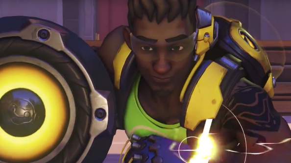 Console Lucio player proves he can play Overwatch just as