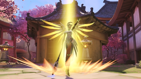 Overwatch Mercy patch 1.15