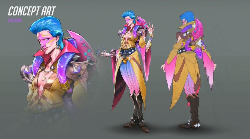 Overwatch Moira Glam skin