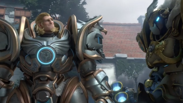 Reinhardt Is The Hero Of The Blizzcon 2017 Overwatch Short And It S Incredible Pcgamesn