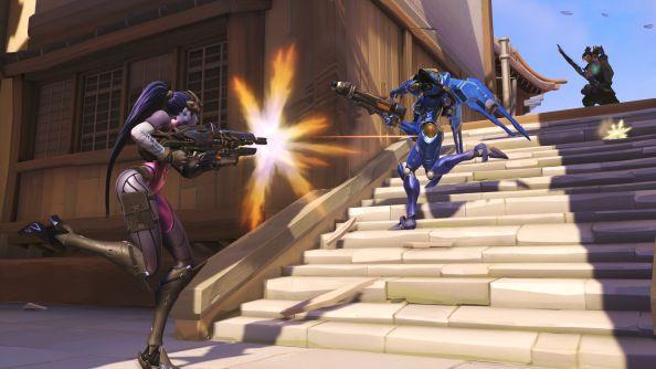 Blizzard BlizzCon 2014 Overwatch Widowmaker