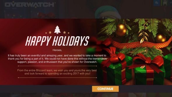 Blizzard Giving Away Loot Boxes Christmas 2020 Blizzard's Christmas gift is five free Overwatch loot boxes