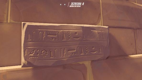 Overwatch easter eggs horde logo