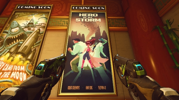 Overwatch easter eggs movie poster