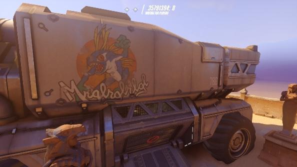 Overwatch easter eggs murloc truck