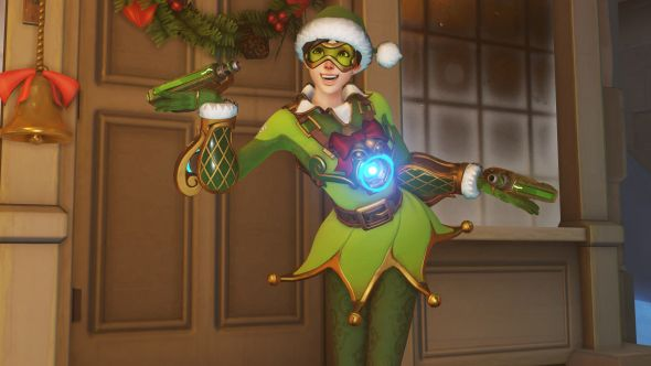 Overwatch Winter Wonderland Elf Tracer