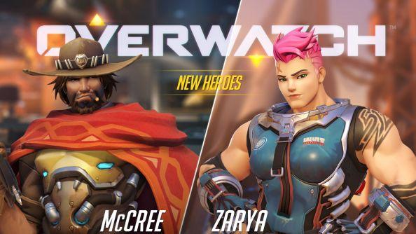 Meet Overwatch's newest recruits: bounty hunter McCree and Russian soldier Zarya
