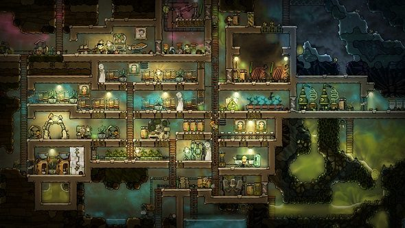 Power a space colony with farts in Oxygen Not Included ...