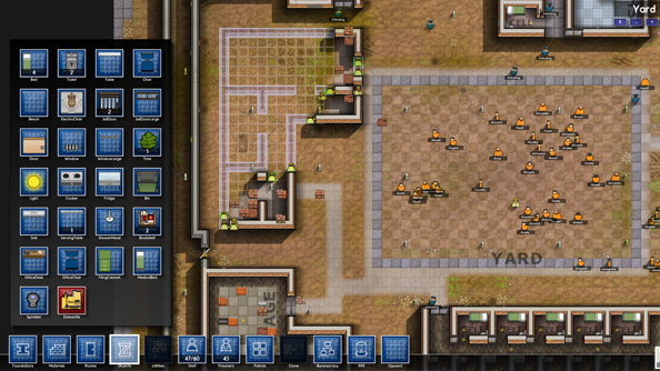 Prison Architect: Escaped convicts, electric showers and Dwarf Fortress