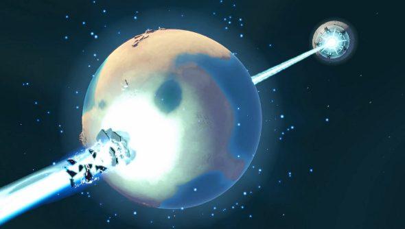 Planetary Annihilation launch