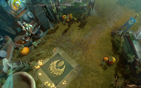 Dire Tire is the Dota 2 Halloween map, new game mode hinted