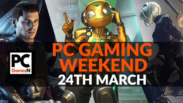 Your PC gaming weekend: win a survival game, flirt with aliens in Mass Effect, drive cars in No Man's Sky, and more!