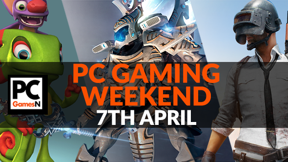 Your PC gaming weekend: win a Dawn of War 3 beta key, survive in PlayerUnknown's Battlegrounds, and more!