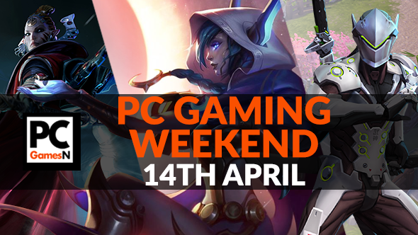 Your PC gaming weekend: win a game key, play Dawn of War 3, overclock your CPU, and more!