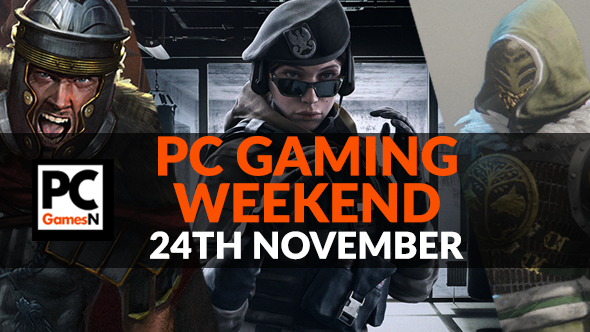 Your PC gaming weekend: win a Star Wars Nvidia GPU, grab a deal from Black Friday, play Destiny 2's Iron Banner, and more!