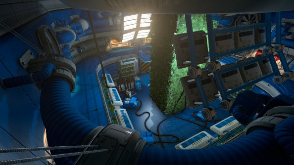 P.O.L.L.E.N is a virtual reality game set on Titan: wander around an abandoned station searching for the truth