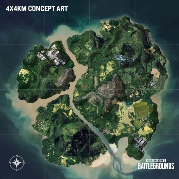PUBG small islands map