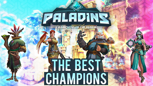 Best Paladins characters