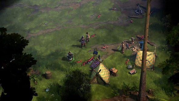 Pathfinder Kingmaker Camp