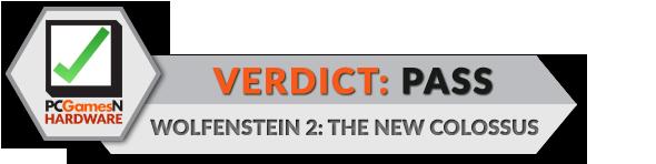 Wolfenstein 2 pc performance review