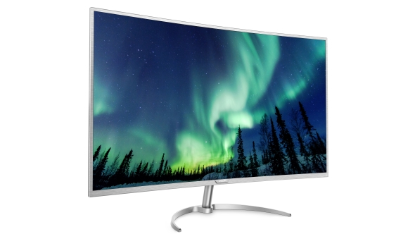 Philips first curved 4K monitor is the biggest around