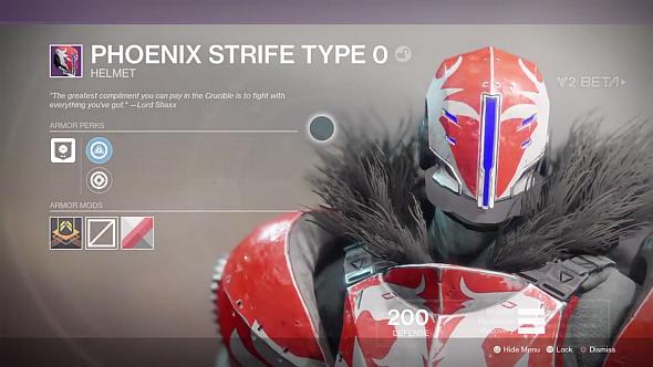 Phoenix Strife helmet