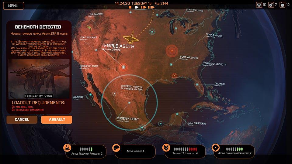 Phoenix point map