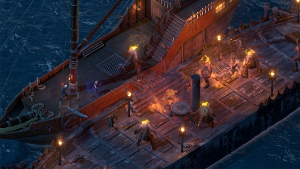 Pillars of Eternity 2 ship deck combat