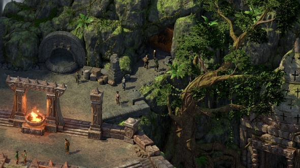 Pillars of Eternity 2 jungle area
