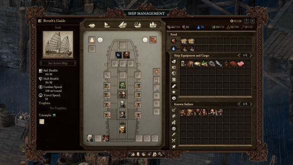 Pillars of Eternity 2 ship customisation