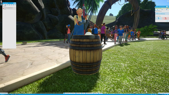 Planet Coaster janitor